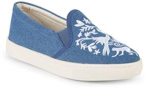 Soludos Women's Otomoi Flora Denim Slip-On Sneakers