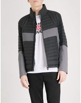 BOSS GREEN Quilted shell-down jacket