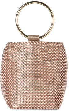 Jessica McClintock Rose Gold Gwen Convertible Clutch