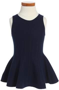 Milly Minis Toddler Girl's Peplum Hem Dress