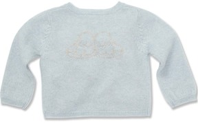 Marie Chantal Baby Boy Blue Angel Wing Cardigan