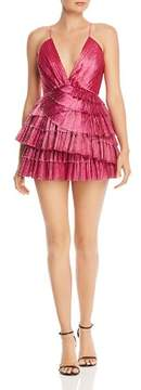 Alice McCall Don't Be Shy Tiered Mini Dress