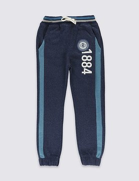 Marks and Spencer Cotton Rich Joggers (3-14 Years)
