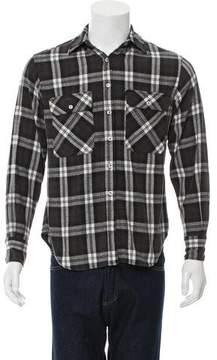 R 13 Plaid Flannel Shirt