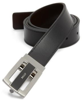 Bally Men's Big & Tall Reversible Calfskin Belt