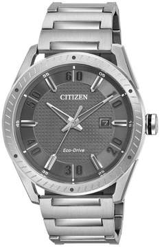 Citizen BM6991-52H Silver Stainless Steel CTO Men's Eco-Drive Watch
