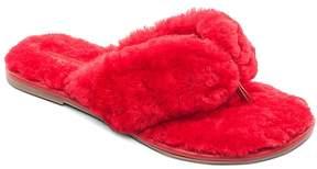 Bernardo Women's Shearling Flip-Flops