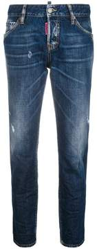 DSQUARED2 Be Nice straight-leg denim jeans