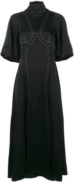 Ellery Noble dress with contrast stitching