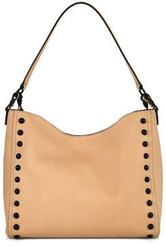 Loeffler Randall Women's Mini Studded Leather Hobo Bag