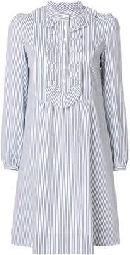 A.P.C. striped mini dress