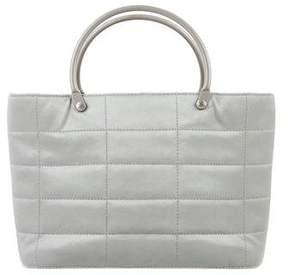 Chanel Satin Mini Handle Bag