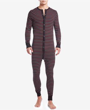 2xist Men's Cotton Jumpsuit Pajamas