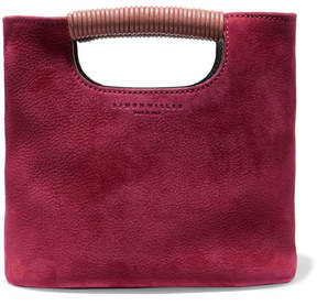 Simon Miller Birch Mini Nubuck Tote - Burgundy