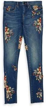Blank NYC Girl's Floral Jeans