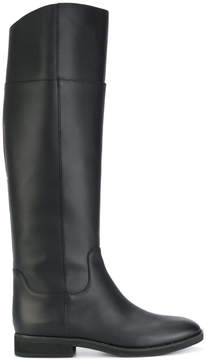 Jil Sander Navy long riding boots