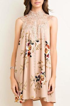 Entro Floral Shift Dress