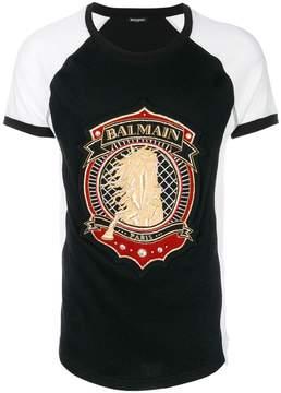 Balmain shield print T-shirt