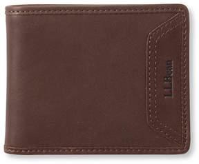 L.L. Bean Field Leather Wallet