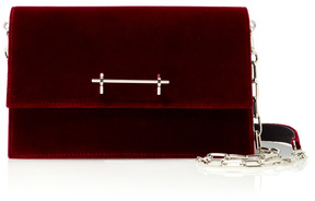 M2Malletier Velvet Sophia Shoulder Bag