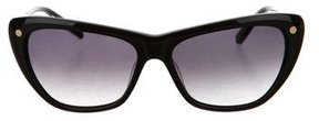 Balmain Logo-Embellished Cat-Eye Sunglasses