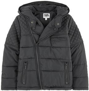 Karl Lagerfeld Padded biker style jacket