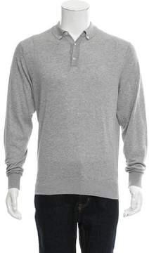Hackett London Knit Polo Sweater