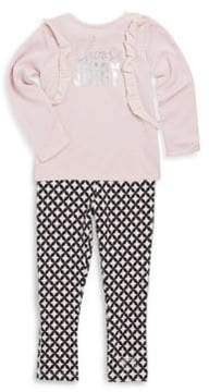 Juicy Couture Little Girl's Two-Piece Tunic & Leggings Set