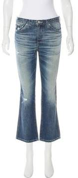Adriano Goldschmied Mid-Rise Cropped Jeans w/ Tags