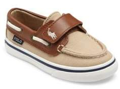 Ralph Lauren Baby's & Toddler's Batten Grip-Tape Boat Shoes