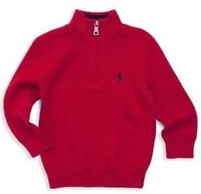 Ralph Lauren Boy's Quarter Zip Sweater