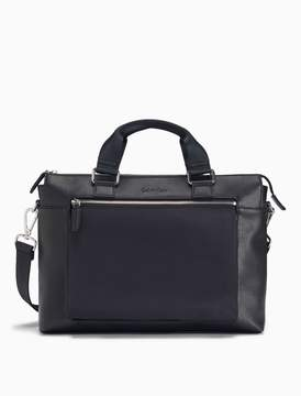 Calvin Klein elevated tech city commuter bag