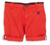 Little Marc Jacobs Toddler's, Little Boy's & Boy's Piped Cotton Shorts