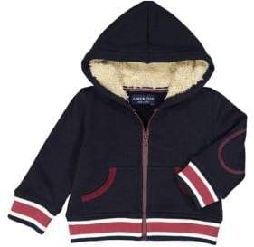 Andy & Evan Little Boy's Sherpa-Lined Hooded Jacket