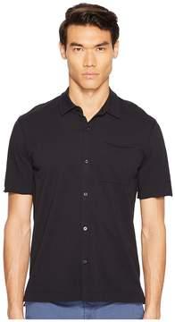 ATM Anthony Thomas Melillo Classic Jersey Short Sleeve Shirt Men's Short Sleeve Button Up