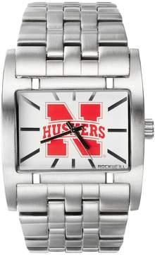 Rockwell Kohl's Nebraska Cornhuskers Apostle Stainless Steel Watch - Men