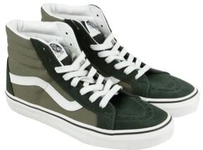 Vans Mens SK8-Hi Reissue Hight Top Lace Up Green