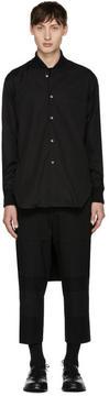 Comme des Garcons Black Cropped Shirt