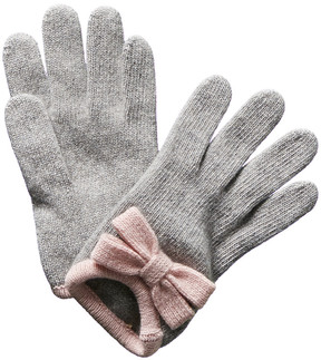 Portolano Grey Cashmere Gloves