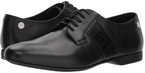 Versace Plain Toe Oxford w/ Greco Trim Men's Shoes