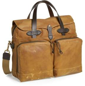 Filson '24 Hour' Tin Cloth Briefcase - Beige