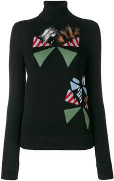 Fendi Butterfleye embroidered jumper