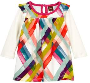 Tea Collection Plaid Mighty Mini Dress (Baby Girls)