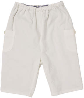 Marie Chantal Baby Boy Baby Cord Pull-On Pants - Off White