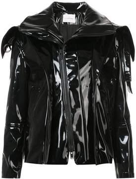 A.F.Vandevorst exaggerated collar jacket