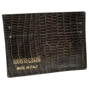 Roberto Cavalli Exotic leathers card wallet