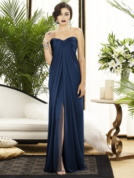 Dessy Collection 2879 Dress in Midnight