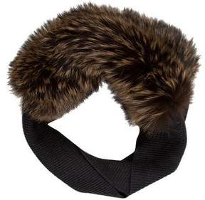 Lanvin Fox Fur Snood w/ Tags