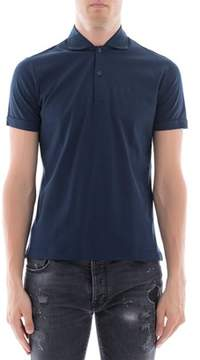Orian Men's Blue Cotton Polo Shirt.