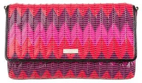 Kate Spade Abrielle Beverly Breeze Clutch - PINK - STYLE